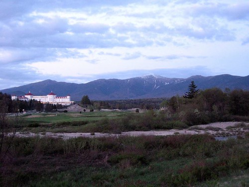 Mount Washington and the hotel