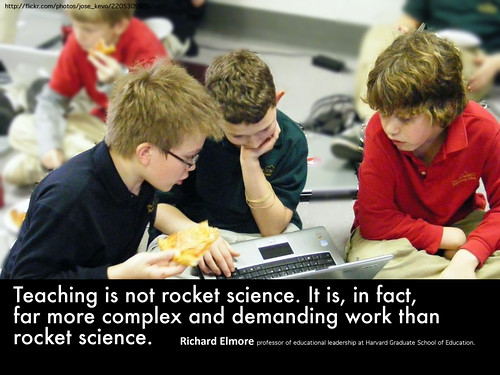 Teaching is not Rocket Science by shareski, on Flickr