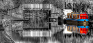Canal Boat Colour Pop