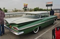 Mooneyes X-Mas Party 2016 (USautos98) Tags: 1959 chevrolet chevy impala 4door