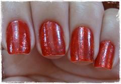 Vermelho + espectral (♫♪♫ Ma ♫♪♫) Tags: vermelho ah bu risque espectral esmalte anahickmann flocado biguniverso