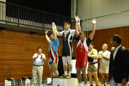 【2011 全日本マスターズ】 平岡力選手、優勝おめでとうございます。