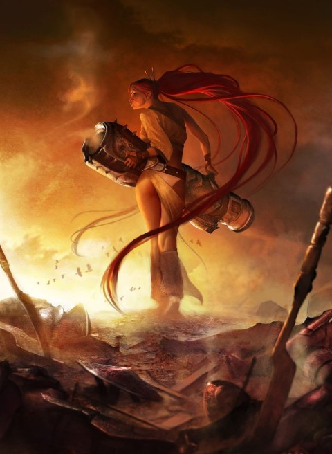 Heavenly Sword Artwork