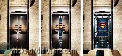 エレベーター広告2