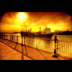 Sun & Shadows (Dimitri Depaepe) Tags: sun boat bravo raw ship shadows antwerp hdr antwerpen themoulinrouge magicdonkey superaplus aplusphoto infinestyle theroadtoheaven