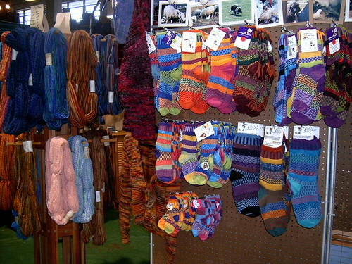 Yarn and Socks - SAFF 2007