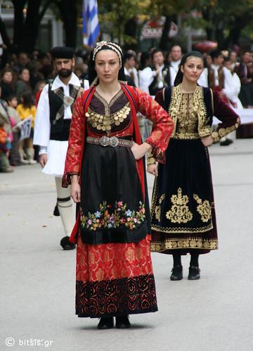 folk dancers with