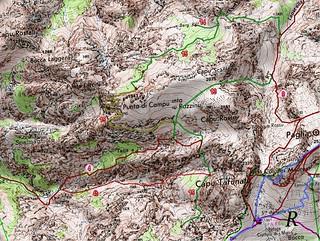 Carte de Scaffone - Campu Razzinu