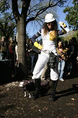 job well done (TylerYoga) Tags: alexis park new york city nyc dog brown cute halloween