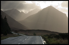 Marsco 11 (tanera) Tags: road mountains skye perfect photographer bluesky abandon cumulus cuillins anywhere the marsco lochsligachan wwwtaneracouk httptaneracouk
