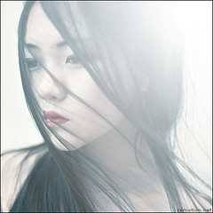 A Silent Melody (zemotion) Tags: light selfportrait girl hair asian wind memories flare breathtaking tcp fivestarsgallery abigfave zemotion jingna kubrickslook