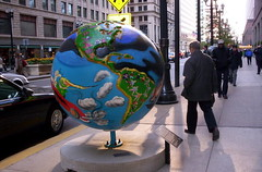 Globes and Sidewalk repair 30 N LaSalleCityHall 008