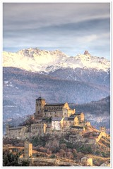 Chteau de Valre, Sion (christianmeichtry) Tags: sky mountain alps castle clouds switzerland valeria chateau wallis hdr sion burg valais valre sitten abigfave diamondclassphotographer megashot