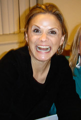 Amy Sedaris does my favorite funny face! (craftybeaver) Tags: celebrity face dc washington hilarious funny amy sony famous synagogue cybershot actress author amysedaris sedaris jerriblank strangerswithcandy comedienne sixthi