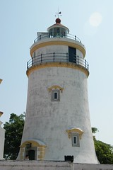 Macau - Guia Lighthouse (cnmark) Tags: light lighthouse architecture night observation geotagged faro still hill platform tall farol macau visible fortress phare base leuchtturm macao highest guia diameter  allrightsreserved  operates geo:lat=22196559 geo:lon=113549634