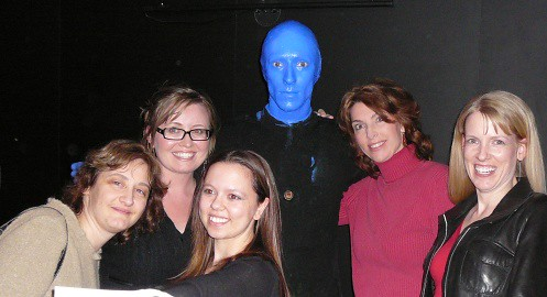 Blue Man and SEOs in Las Vegas - PubCon 2007