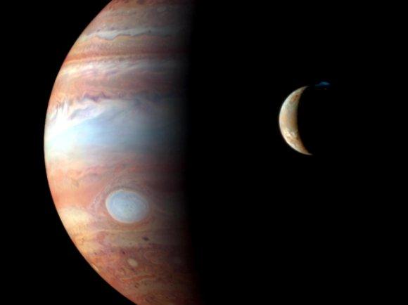 Xúpiter e a súa lúa Io