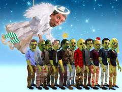 Happy Holidays! (futuremedia interactive) Tags: christmas dog holiday snow jason chicken love feet mike socks colin tom angel john death star tim goodness media russell zombie brian chanukah joy halo salamander fairy future thom luis olga gracious schmutz beyonce