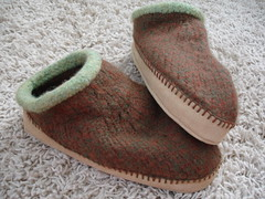 Chocolate Mint Slippers