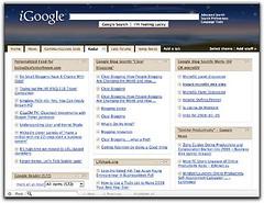 standard iGoogle - boring!