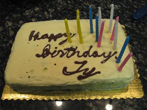 Ty's Birthday