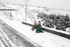 1959 South Korea ~ New Itaewon (Smothers52) Tags: winter snow korea seoul 1959 namsan newitaewon billsmothers karensmothers
