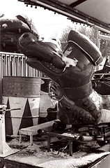 Alligator (Peter_Cameron) Tags: bessar tmax400 elmar5028 id1111