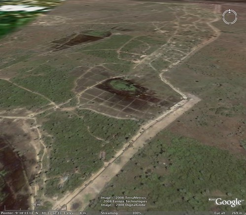 Muhamalai FDL (Forward Defence Lines) on Google Earth
