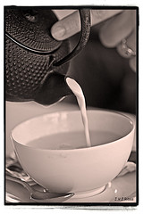 Té con leche by Fortimbras