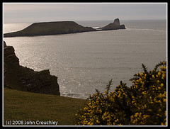 Worms Head - the Gower March 2008