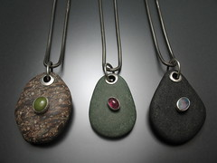 River Rock Pendants
