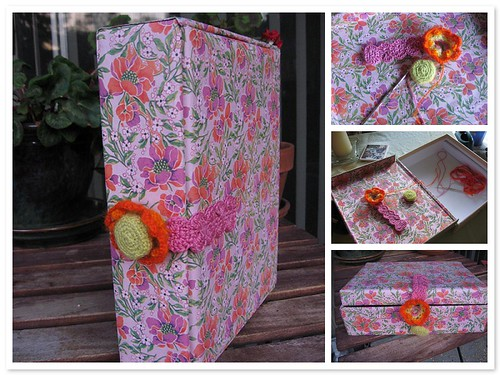 Flower Box for chunky art books