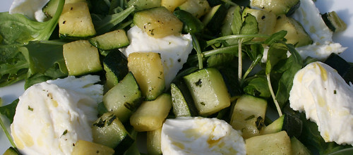 Courgette, Mint and Buffalo Mozzarella Salad 2