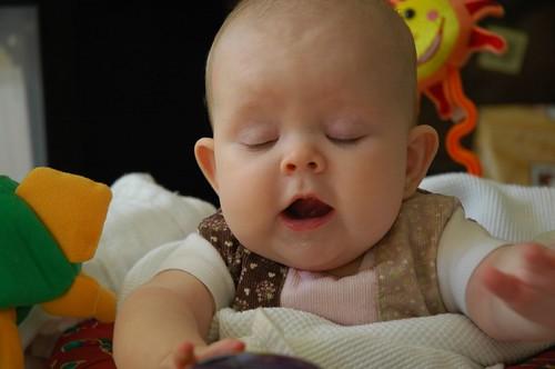 5 months old - opera singer