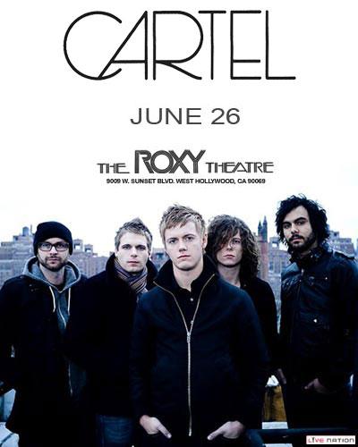 Live Nation Presents: Cartel 6/26