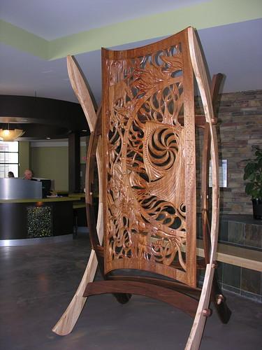original carved panel (anniedaisybaby) Tags: tourism resort manitoba spa interlake hecla handcarved worththetrip heclaisland mikley radissonheclaoasisresort historicpanel