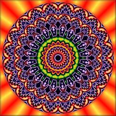 Do You Like It Hot Hot Hot! (Lyle58) Tags: abstract geometric circle kaleidoscope mandala symmetry zen harmony reflective symmetrical balance circular kaleidoscopic kaleidoscopes kaleidoscopefun kaleidoscopesonly