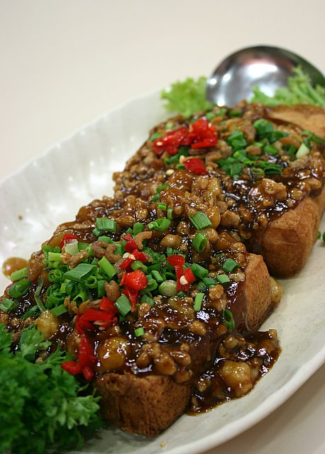 Signature homemade bean curd