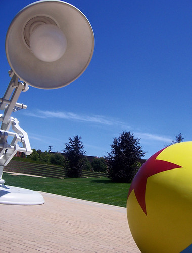 pixar lamp and ball. Pixar Mascots Luxo, Jr. Lamp and Ball