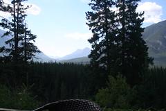 View from The Juniper (chrissandoval) Tags: summer mountains alberta banff banffnationalpark