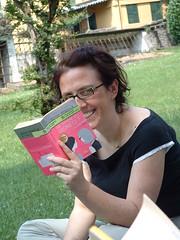 noi mai senza libri bis (LaBabi) Tags: bookcrossing bellagio comolake