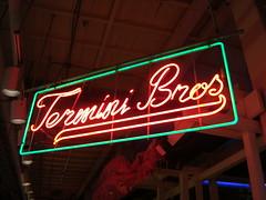 Termini Bros. Sign