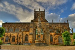 Sherbourne Abbey HDR