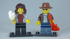 Brick Yourself Custom Lego Figure Sweet Gamer Girl