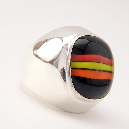 ezüst gyűrű
