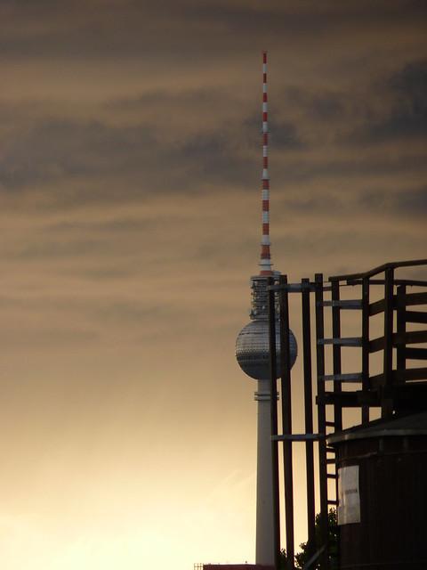 Wolkenhimmel über Berlin