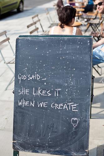 god said...