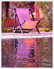 Noon by the pool (andzer) Tags: trip pink summer holiday hot sahara water pool deckchair purple tunisia joy august scout andreas explore greece macedonia thessaloniki vacancy ksar ghilane 2007 myfaves salonica  ksarghilane  zervas  ysplix andzer   wwwandzergr