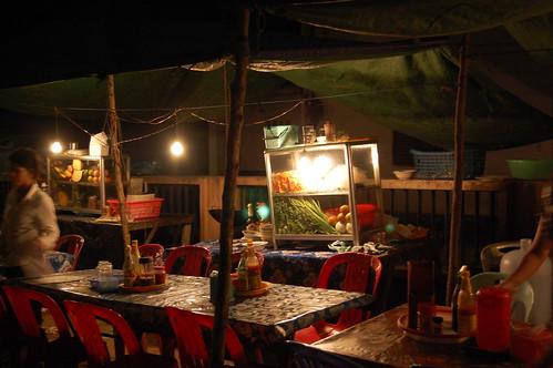 Hawking in Siem Reap Town