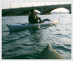 Kayaking The Detroit River
